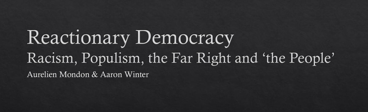 Reactionary Democracy